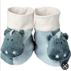 Brand new baby shoes with rattle